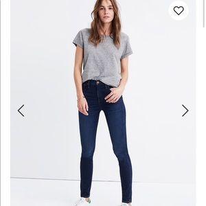 "Sale 🌸Madewell 10"" High-Rise Skinny Jeans"